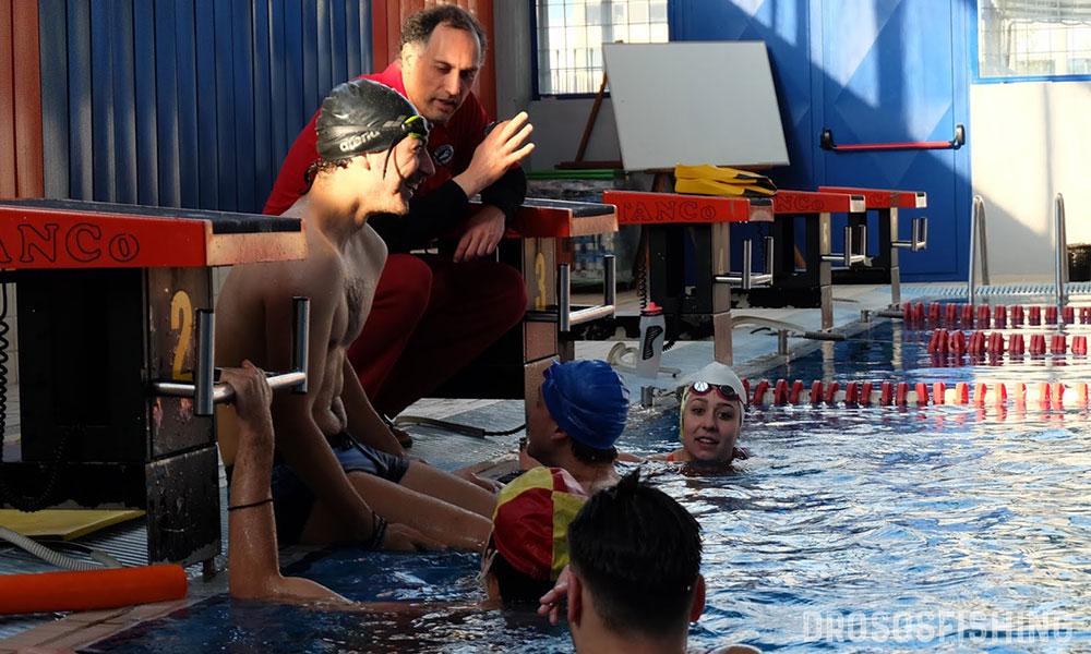 Ανατροφοδότηση την ώρα της προπόνησης. Η αθλητική ναυαγοσωστική δεν είναι αγγαρεία. Είναι χαρά. Μάθηση. Εξέλιξη.